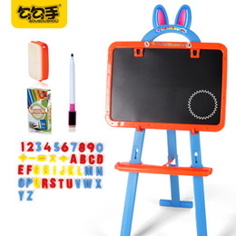 Wholesale Magnetic Writing Board Kids - GouGouShou Kids Color Magnetic Writing Painting Drawing Graffiti Board Toy Baby Preschool Tool Learning Educational Brinqued
