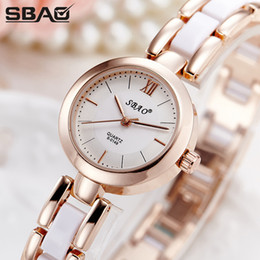 Wholesale Sbao Watches - 2017 SBAO Brand Fashion Girl Watches Life Waterproof Quartz Ball Lovely Pink Grace