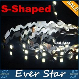 best shaped led - S-shaped 2835 Flexible Led Strips Bend Freely Led Light Strip 12V Non-waterproof IP20 Channel Letters Backlight 5m roll