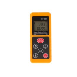 Wholesale Display Protect - 2016 New Arrival LCD Display Mini Laser Distance Meter CP-60C 60M Handheld Dust Protected Laser Rangefinder Medidor Measure Area Volume Tool
