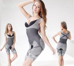 Wholesale Bamboo Shapewear - Woman Bamboo Slimming Underbust Shapewear Corset Shaper Body Suit Waist Tummy Shaper S-XXL