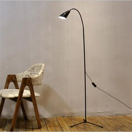 Wholesale Decorative Modern Floor Lamp - 2017 New Modern LED Floor Lamps for Bedroom Dimmer button Decors USB Design Decorative Lighting Fixtures