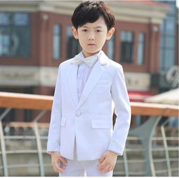 Wholesale Picture Lapel Dress For Girls - Boys suits for wedding formal occasion boy suits whirt classic boy suits boys flower girl dress suits fashion boy suits(jacket+pants+tie)