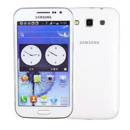 Wholesale Smartphone Unlocked Dual Sim Card - Original Refurbished Unlocked Samsung Galaxy Win I8552 Dual Sim Cards 4GB ROM+1GB RAM 5MP Quad Core 4.7inch WIFI Smartphone