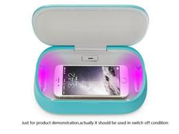 Wholesale Ozone Sterilizer - Smart Mobile Phone Charging UV Light Ozone Sterilizing Sanitizer Aromatherapy SPA Multifunction Mobile Sterilizer USB Phone Charger Box