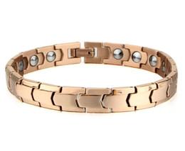 Wholesale Ge Bracelets - Bracelet The new 2016 pure titanium bracelet for women Han edition rose gold bracelet South Korea conical ge energy hea190 * 9 mm pulseras