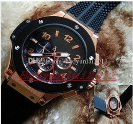 Wholesale New Gent - Drop shipping Hot sell New fashion men's watches Big (Steel Carbon Rubber) Gents Automatic watches free shipping.