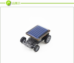 Wholesale Small Plastic Robot Toy - The smallest car toy toys for children creative DIY strange new car