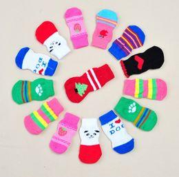 Wholesale Wholesale Dog Socks - Wholesale pet Socks 3 size of the bottom of the foot of the foot of a high quality dog pet socks
