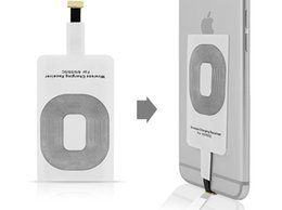 Wholesale S4 Charging Pad - Qi Charger Receiver Wireless Charging Adapter Receptor Receivers Pad Coil For Samsung Galaxy S3 S4 S5 Note 2 3 iphone 5S 6 6S