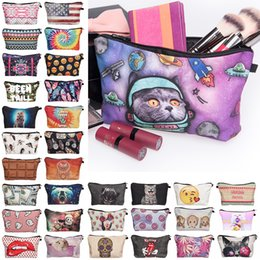 Wholesale Wholesale Travel Cases - Fashion 31 Styles Cosmetic Bags Makeup Bag Pencil Bag Womens Handle Casual Bags Travel Bags Cosmetic case makeup organizer toiletry bag