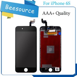 Wholesale Iphone Oem Assembly - 2017 Best AAA Quality For Iphone 6S OEM LCD Display With Touch Screen Digitizer Assembly Black And White Free DHL Shipping