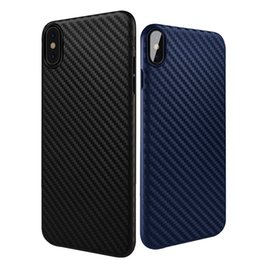 Wholesale Iphone Premium Cases - For iPhone X 8 7 plus case Carbon Fiber Armor Case Cover slim black Premium Flexible Soft TPU Case for Apple iPhone 6 6S 7s
