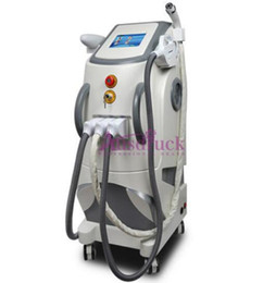 Wholesale Ipl Hair Removal Radio - New Vertical 3in1 Elight IPL Laser Hair Removal Skin Rejuvenation Radio Frequency RF Yag Laser Tattoo removal machine wrinkle acne remover