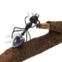 Giocattoli per insetti per bambini online-DHL libero Popolare Solar Ant Cute Kids Toys Magic Solar Powered Ant Insetto Gioca impara giocattoli solari educativi per i bambini