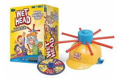 Wholesale Wholesale Kids Amusement Toys - NEWEST Wet Head Game WET HEAD CHALLENGE Jokes&Funny Toys Roulette Game Tricky Cap New Table Game New Amusement Toys Wet Head ChallengeZD019A