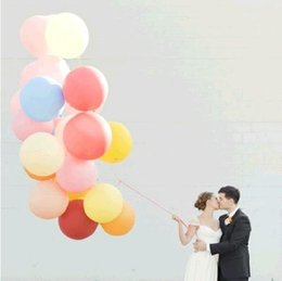Wholesale Cheap Centerpieces For Weddings - Good quality Cheap 36 Inch Extra large Clear Latex Balloons More Color Best For Wedding Decoration Birthday Party Decoration