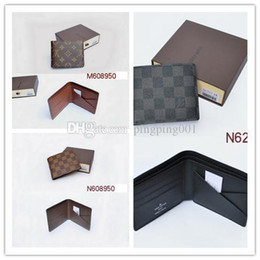 Wholesale Vintage Dress Styles - Hot 2017 sale! brand men short Wallet, classic fashion male patchwork purse with coin pocket &card holder with gift no box