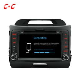 Wholesale Gps For Kia Sportage - HD 1024*600 Quad Core Android 5.1.1 Car DVD Play for KIA Sportage with GPS Navigation Radio Wifi Mirror link DVR