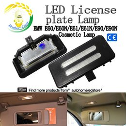 Wholesale Vanity Mirror Lights Bulbs - 2pc X SMD LED Vanity Mirror Visor Light for BMW E60 E90 E70 E71 E84 F25
