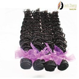 Wholesale Deep Wave 28inch - 8A Cuticle 100% Peruvian Hair Extension 10-28inch Deep Wave Natural Color Hair Bundles Unprocessed Peruvian Human Hair Weave