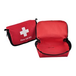 Wholesale Aids Car - Travel Sports Home Medical Bag Outdoor Car Emergency Survival Mini First Aid Kit Bag (empty) EDC Bag 2503022