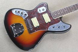Wholesale Sunset Guitar - ALL NEW JAGUAR Jaguar left-handed left-handed electric guitar sunset color special