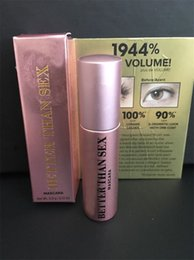 Wholesale Thick High Top - In stock! Volume Mascara Rose gold Better Than Love Mascara High Quality Cool Black Mascara DHL free ship Top qualtity!
