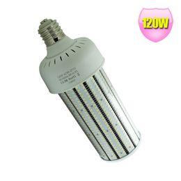 Wholesale mh hps bulbs - 400Watt MH HPS Warehouse High Bay Light 480V Replacement 120W LED Corn Light Bulb E39 Mogul Base