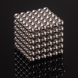 Wholesale Magic Magnetic Balls - 216pcs 5mm 3mm Magic Cube Magnetic Balls Puzzle Cube with metal box Adult Relax de-stress Game Toys Birthday Present Gift Buck Balls
