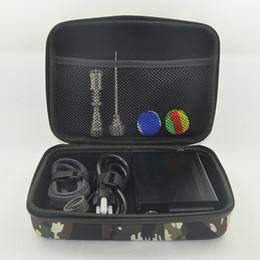 Wholesale Wholesale Coil Nails - Cheap e dab nail Kit with PID Temperature Control Box 110V 220V 100W Coil 10mm 16mm 20mm Titanium Nail Carb Cap