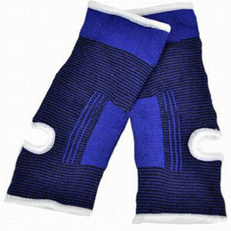 Wholesale Elastic Brace Guard Support Sports - NEW Hot Sale Sports Safety Ankle Protection Elastic Brace Guard Soft Support Sports For Football Basketball Outdoor Sport