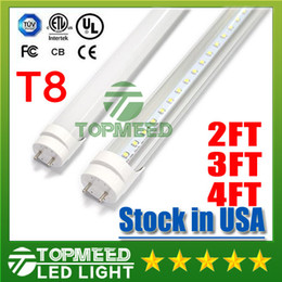 Wholesale Wholesale Stock Usa - Stock in USA UL 1.2m 2FT 3FT 4ft T8 18W 20W 22W Led Tube Light 2400lm 110-240V Led lighting Fluorescent Tube Lamp