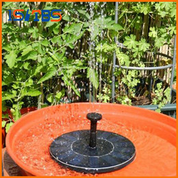 Wholesale Solar Power Fountain Water Pump - New solar Water Pump Power Panel Kit Fountain Pool Garden Pond Submersible Watering Display with English Manaul