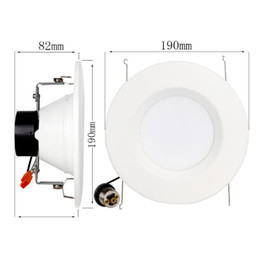 Wholesale Retrofit Recessed Lighting - LED Recessed Downlight retrofit lighting Triac dimmable American standard Downlight 5 inch 6 inch Aluminum recessed 12W downlight