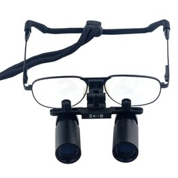 Wholesale Surgical Microscope Glasses - Dental Loupes Magnifier  Binocular Medical Loupe 5.0X 420mm Glasses Magnifying Loupes Optical-Surgical Microscope Christmas Gift
