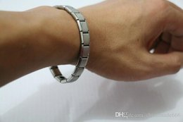 Wholesale Energy Reduce - JK For Women Gift Anti-Fatigue Germanium Titanium Energy Bracelet Power Bangle Best gift Reduce muscle tension