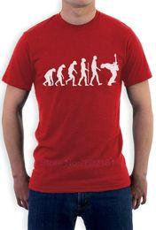 Wholesale Black Evolution - Evolution of A Rock Guitarist - Funny Musician Rocker T-Shirt Guitar Player New Fashion Men'S T-Shirt