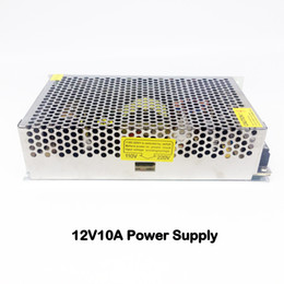 Wholesale Cctv Dvr Box - AC110V-220V to DC 12V10A 240W Metal Switching Power Supply Adapter Transformers Box Distributor For CCTV Cameras DVR System LED