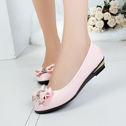 Wholesale Scoop Shoes - 2016 new fashionable ladies shoes with flat bow pointed summer tide flat shoes shoes shoes scoop