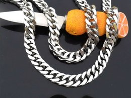 Wholesale Mens Necklace Length - Byzantine Chain Silver Color Stainless Steel Necklace Mens Boys Multi Length Chain Necklace Fashion Personalized Wholesale Jewelry