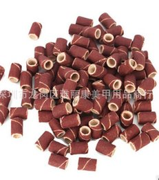Wholesale Drill Sanding Bands - Freeshipping - 1000pcs coarse sanding bands for electric nail drill for professional manicure pedicu