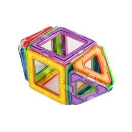 Wholesale Magnetic Toys For Kids Building - 30PCS Mini Magnetic Building Blocks Educational Toys Models Building For Kids DIY Plastic building blocks magnet