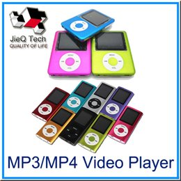 Wholesale High Quality Video Recorder - Ultra-High Quality MP3 MP4 Multi Media Video Player Music Player LCD Screen Support FM Radio without TF card With Retail Box