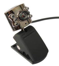 Wholesale Web Camera For Desktop - USB 30.0M 6 LED Webcam Camera With Mic Web Cam for Desktop PC Laptop Notebook Free drop ship