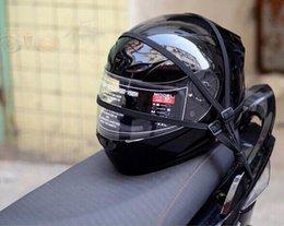 Wholesale Luggage Bands - Universal helmet rope 60cm motorcycle HELMET modified bands luggage net rope for LS2 FF370 FF396 FF358 ,JIEKAI helmet,YEMA