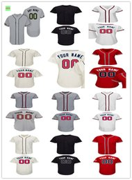 Wholesale Atlanta Homes - Custom 2017 Atlanta Jersey Men Women Youth Cool Base Flexbase Home Memorial Day Mother Day Baseball jersey size S-5XL