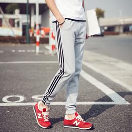 Wholesale Skinny Male - Wholesale-Famous Brand 6 Color Oversized XXXXXL Mens Casual Pants Pure Cotton Men Sport Pants Fashion Summer Style Male Trousers Hot Sale