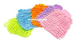 Wholesale Wholesale Microfiber Super Mitt - Super Mitt Microfiber Car Window Washing Home Cleaning Cloth Duster Towel Gloves