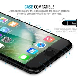 Wholesale Iphone Screen Free Shipping - For iPhone X 10 Tempered Glass Screen Protector For Iphone 8 7S for Galaxy J3J5J7 Prime 0.33mm 2.5D Anti-shatter Paper Package Free Shipping